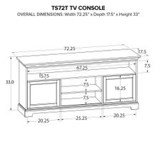 Howard Miller Custom TV Console TS72T