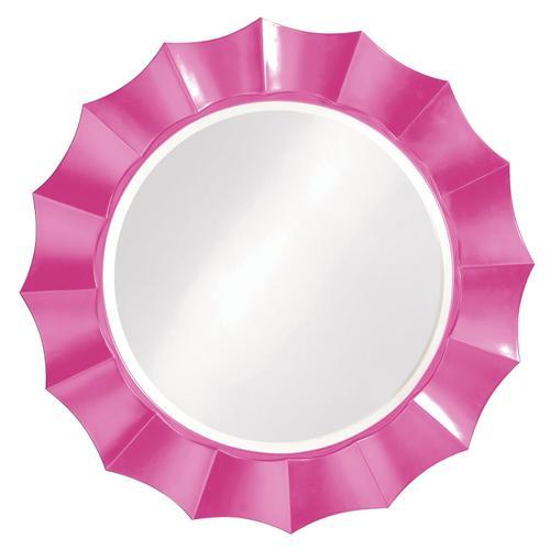 Howard Elliott - Corona Mirror - Glossy Hot Pink