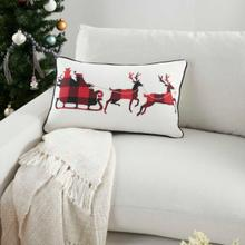"""Holiday Pillows Bx996 Multicolor 14"""" X 20"""" Throw Pillow"""