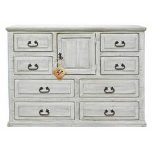 See Details - Weathered White Econo Dresser