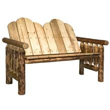 Glacier Country Collection Deck Bench