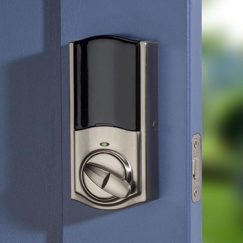 Kwikset - Kwikset Convert Smart Lock Conversion Kit with Zigbee Technology - Satin Nickel