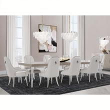See Details - Rectangular Dining Table (includes: 2 X 22 Leaves)