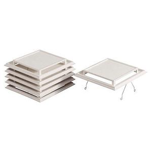Broan - Broan® Grille/Cover, Spring-Mounted, White