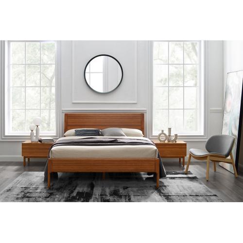 Greenington Fine Bamboo Furniture - Ventura Cal King Platform Bed, Amber