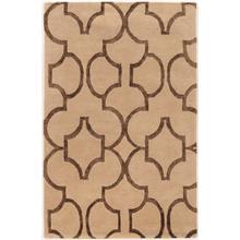 See Details - Aspire Wool Geo Beige/brown