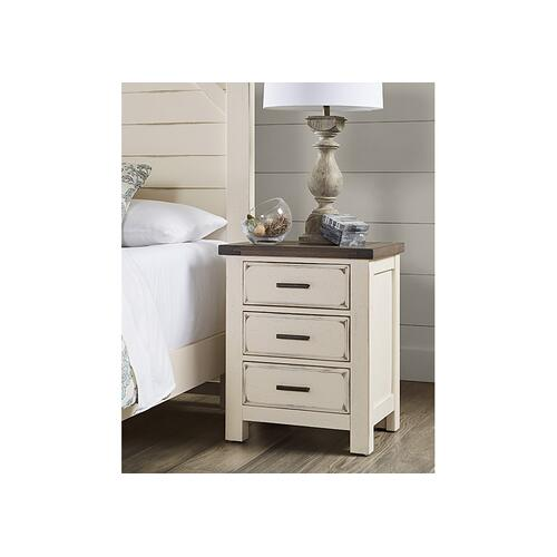Nightstand - 3 Drawers