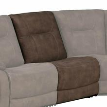 See Details - COOPER - SHADOW BROWN Armless Chair