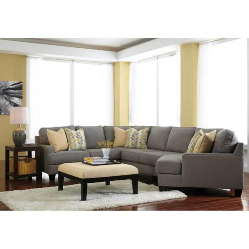 4 Piece Sectional With Cuddler