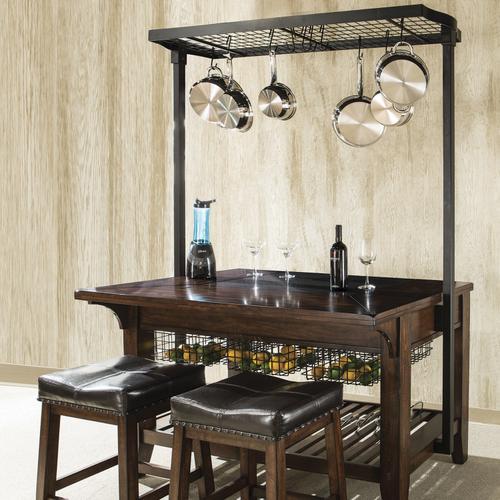 Intercon Furniture - Kona Backless Stool  Raisin