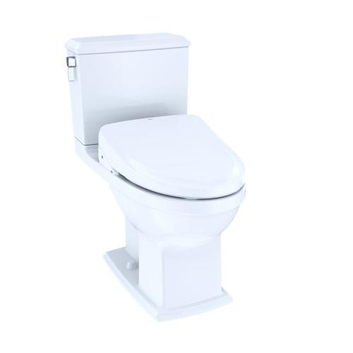 Connelly - WASHLET®+ S550e Two-Piece Toilet - 1.28 GPF & 0.9 GPF - Cotton