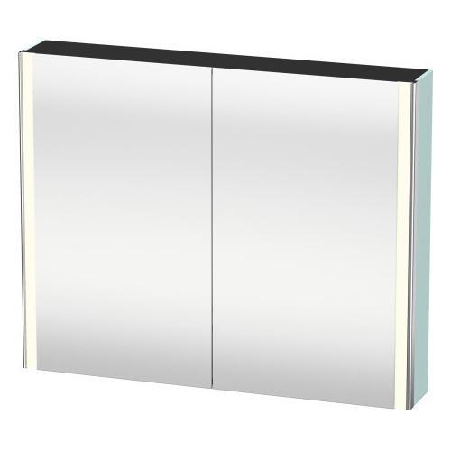 Mirror Cabinet, Light Blue Matte (decor)