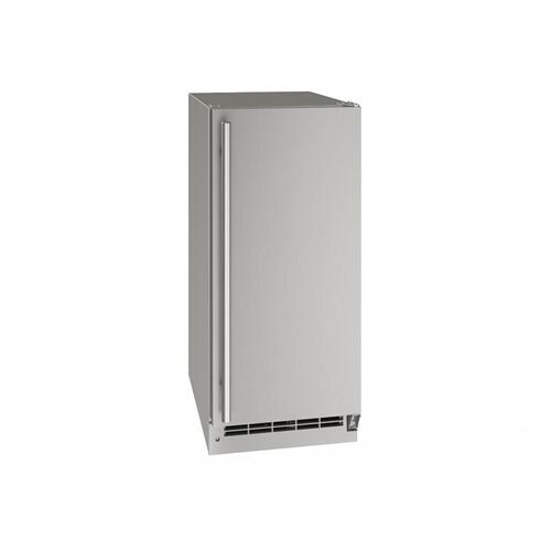 """Onb115 / Onp115 15"""" Nugget Ice Machine With Stainless Solid Finish, Yes (115 V/60 Hz Volts /60 Hz Hz)"""
