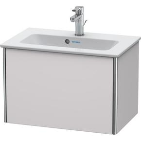 Vanity Unit Wall-mounted Compact, White Lilac Satin Matte (lacquer)