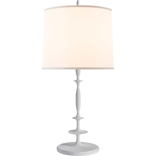 Barbara Barry Lotus 33 inch 150 watt Plaster White Decorative Table Lamp Portable Light