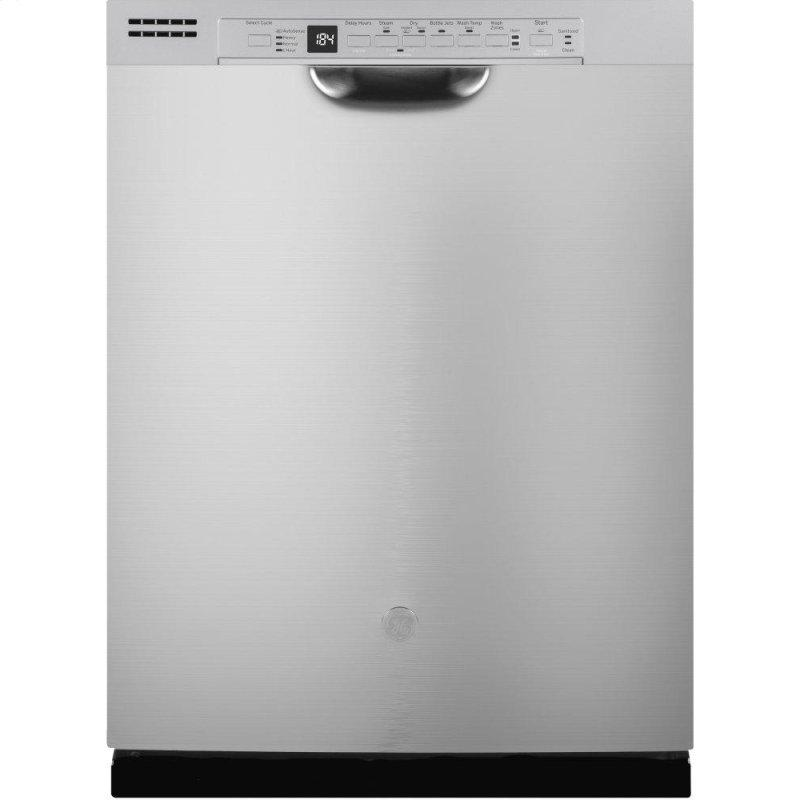 GE(R) Front Control with Plastic Interior Dishwasher with Sanitize Cycle & Dry Boost