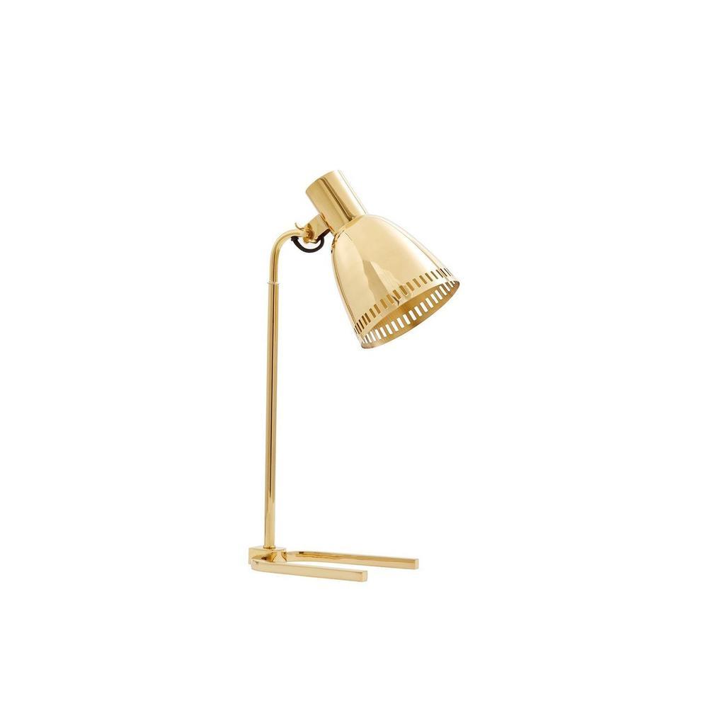 Darlene Table Lamp, Brass