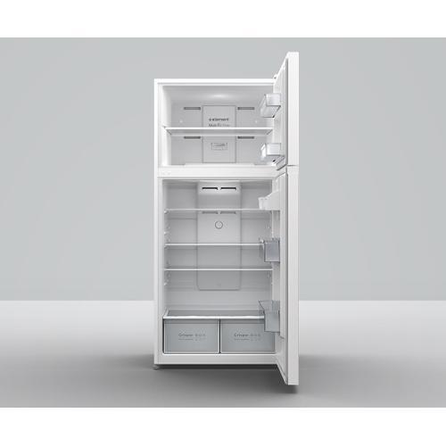 Element - Element 18 cu. ft. Top Mount Refrigerator (white)