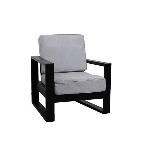 Nordic High Back Club Chair