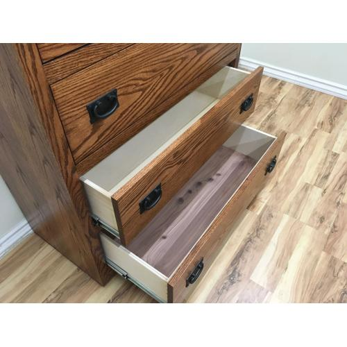 O-M446 Mission Four Drawer Chest