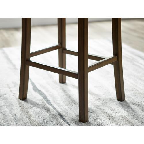 Greenington Fine Bamboo Furniture - Tulip Bar Height Stool, Caramelized, (Set of 2)