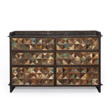 "See Details - Rio Six Drawer Dresser 53"""