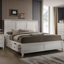 View Product - San Mateo Storage Bed  White
