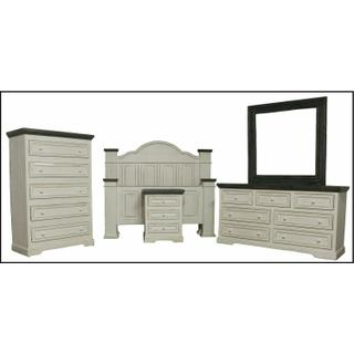 See Details - 103123a Queen Ana Bed W/ Oasis Case Goods