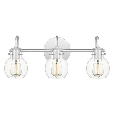 Andrews Bath Light in Polished Chrome
