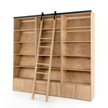 Bane Triple Bookshelf W/ Ladder-smoked P
