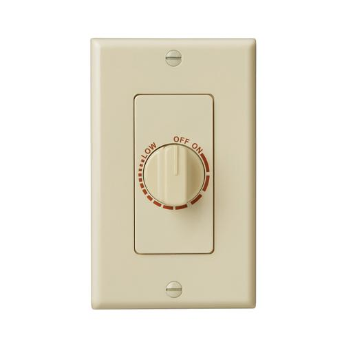 Broan-NuTone® Electronic Variable Speed Control, 3 amp Capacity. 120V, Ivory