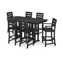 View Product - Lakeside 7-Piece Bar Set in Black
