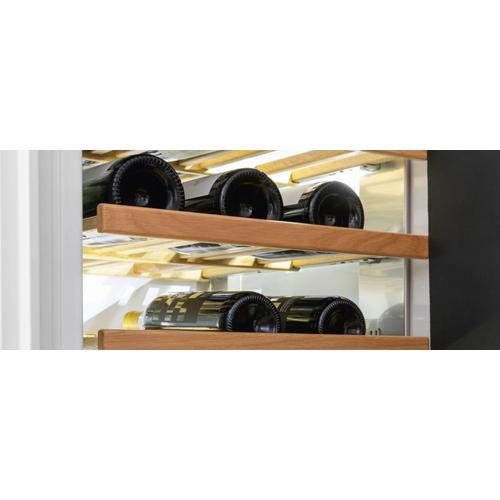 "Bertazzoni - 24"" Built-in Wine Cellar Column Stainless Steel Stainless Steel"