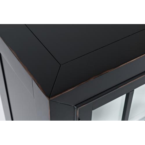 Aquitaine Accent Cabinet - Onyx
