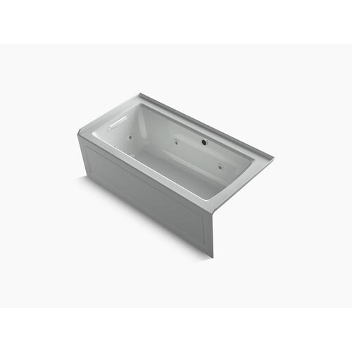 """Ice Grey 60"""" X 30"""" Alcove Whirlpool With Bask Heated Surface"""