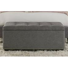CASEY - SHIMMER Storage Bench