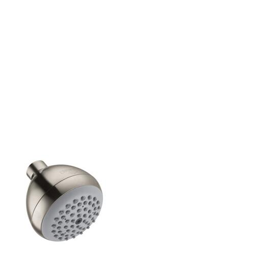 Brushed Nickel Showerhead E 75 1-Jet, 1.5 GPM