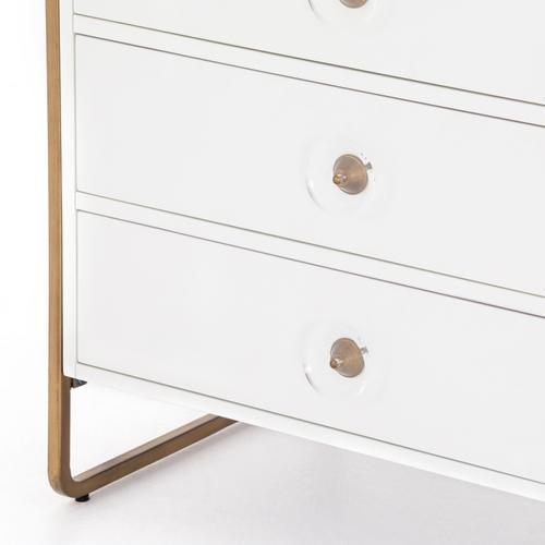 Sorella 6 Drawer Dresser-bright White