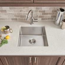 See Details - Pekoe 17x17 Stainless Steel Kitchen Sink  American Standard - Stainless Steel