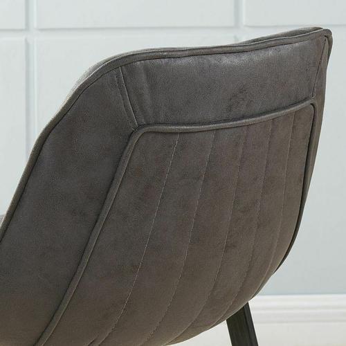 Worldwide Homefurnishings - Buren 26'' Counter Stool, set of 2 in Vintage Grey