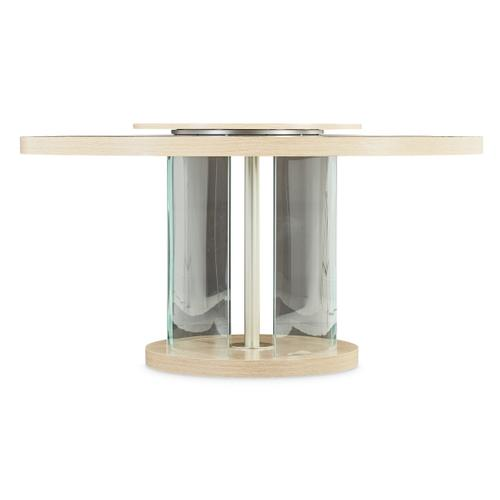 Amini - Round Dining Table W/lazy Susan (3 Pc)