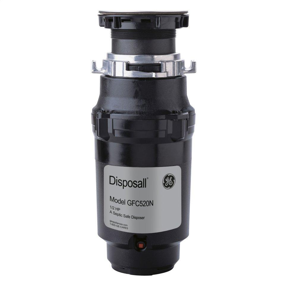 ®1/2 HP Continuous Feed Garbage Disposer - Non-Corded