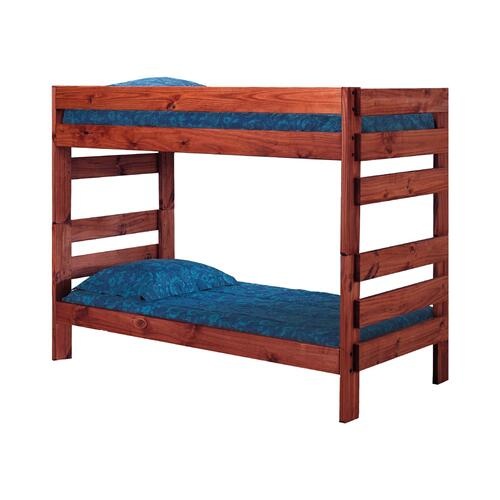 Twin/Twin Stackable Bunk Bed w/Queen Rails