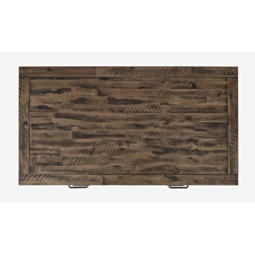 Blackstone Coffee Table W/ 2 Pull Through Drawers