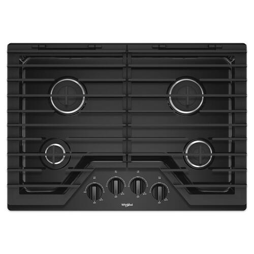 Gallery - 30-inch Gas Cooktop with EZ-2-Lift Hinged Cast-Iron Grates