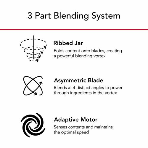 KitchenAid - K400 Variable Speed Blender with Personal Blender Jar - Black Matte