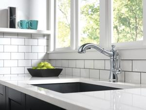 Arctic Stainless Single Handle Pull-Out Kitchen Faucet Product Image
