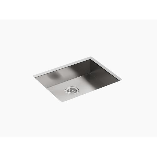 """25"""" X 22"""" X 6-5/16"""" Single Bowl Dual-mount Kitchen Sink With 4 Faucet Holes"""