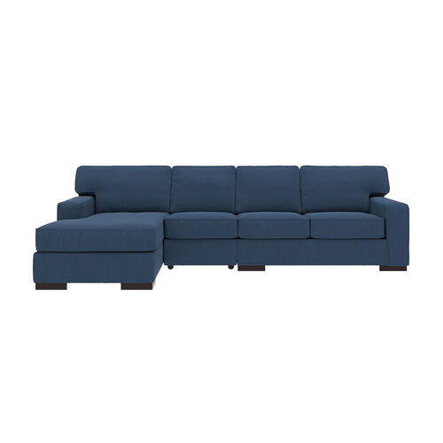 Ashlor Nuvella® - Indigo 3 Piece Sectional