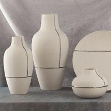 See Details - Parchment Vase-Lg